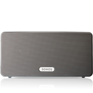 sonos enceinte play 3 blanc pas cher achat vente. Black Bedroom Furniture Sets. Home Design Ideas