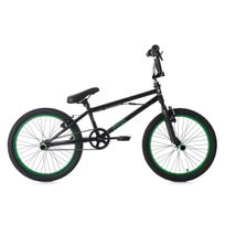 KS CYCLING - BMX Freestyle 20'' Yakuza noir-vert