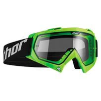 Thor - Masque / Lunettes Cross Enemy Printed - Enfant - Flo Green - Gamme 2017