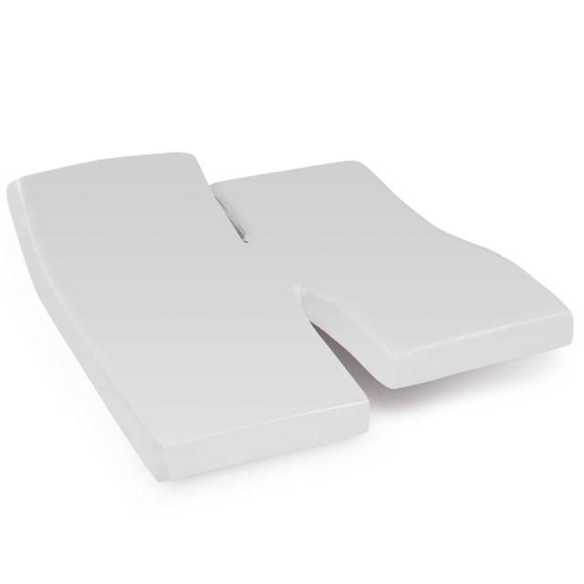 linnea drap housse relaxation uni 2x80x190 cm 100 coton alto calcium tpr t te et pied. Black Bedroom Furniture Sets. Home Design Ideas