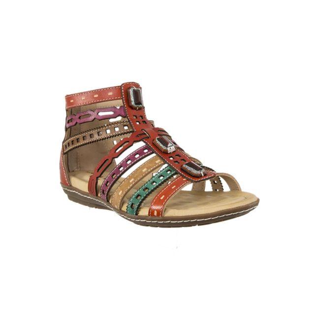 Laura vita sandales nu pieds 1097 bruxelles 03 orange 37