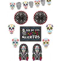 Amscan International - Kit décoration fête des morts