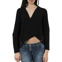 Guess jeans - Gilets cardigans libera cardi noir M