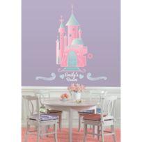 Mon Beau Tapis - Stickers Disney ChÂTEAU Princesse Personnalisable Géant Roommates Repositionnables 102x47cm