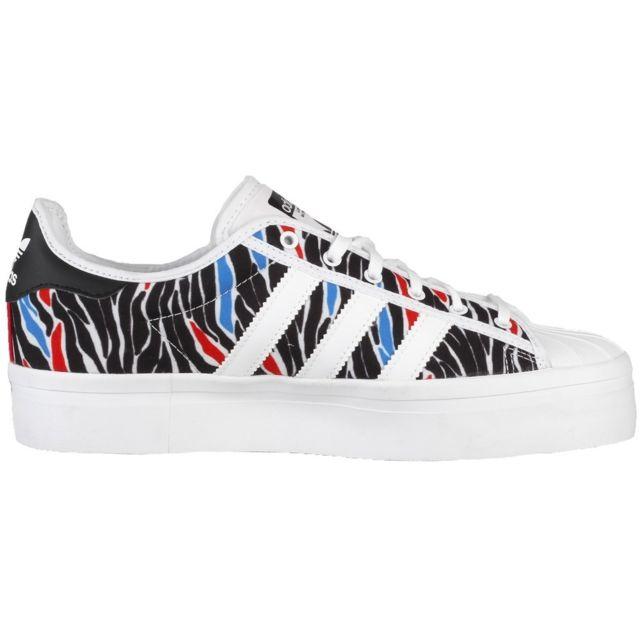 Adidas Superstar Rize W pas cher Achat Vente Baskets