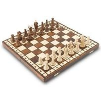 Albatros International - Jeu d'échecs en bois Salomon 32 X 32 cm