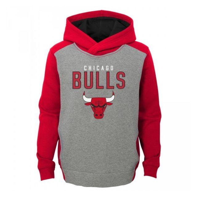 632c58acdc1d Nba - Sweat à capuche Chicago Bulls Gris pour enfant taille - 7 ans 4 ans - pas  cher Achat   Vente Pull enfant - RueDuCommerce