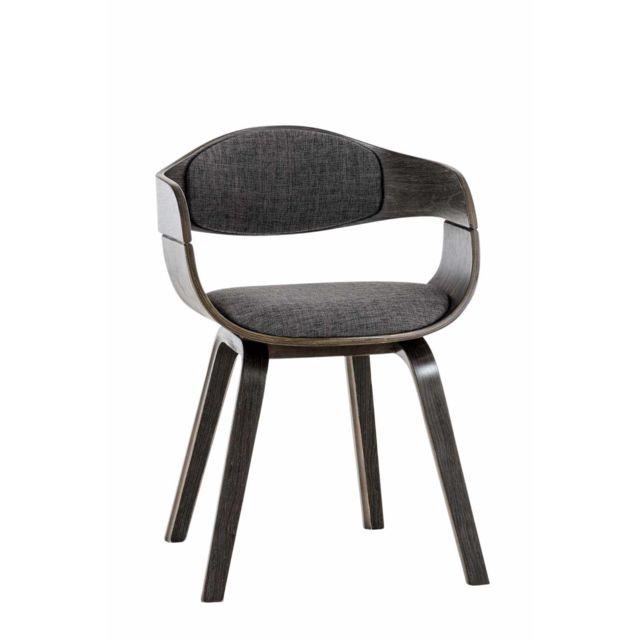 Stylé Chaise de conférence Siège visiteur Ouagadougou en tissu gris