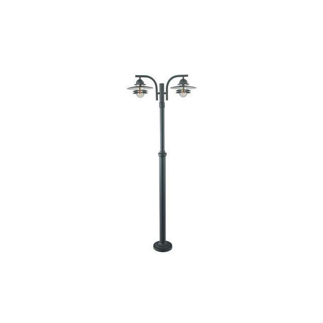 boutica design lampadaire noir oslo 2x57w max 238cm norlys 242sv multicolor pas cher. Black Bedroom Furniture Sets. Home Design Ideas