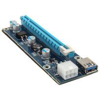 KOLINK - PCI-E x1 auf x16 powered Riser Card Mining/Rendering-Kit