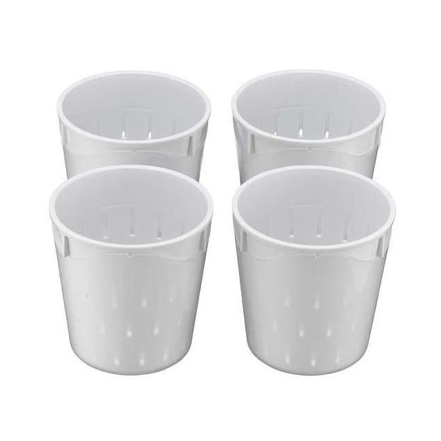 LAGRANGE - 4 petites faisselles 0,25l pour fromagère - 440004
