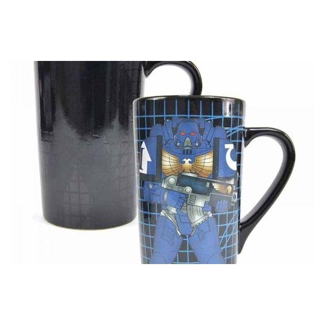 Mug Thermique Space Marine Latte 500ml Warhammer kP80wOn