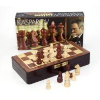 Kasparov - Jeu de Société - Coffret Échecs - Bois Marqueterie