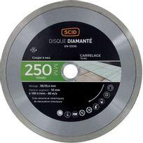 Scid - Disque diamanté carreleur haut de gamme Ø 250mm