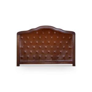 declikdeco t te de lit 180 marron en bois san salvador pas cher achat vente t tes de lit. Black Bedroom Furniture Sets. Home Design Ideas
