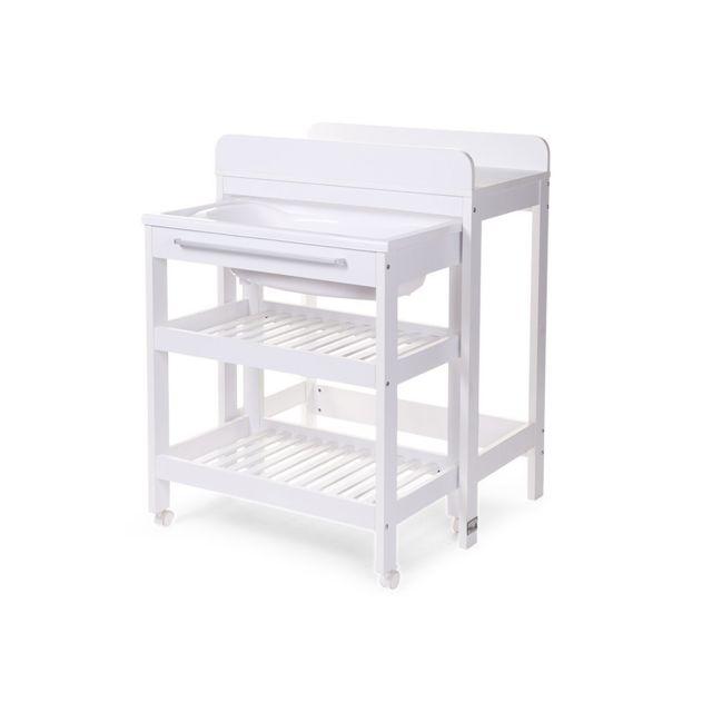 childwood table langer avec baignoire et place pour baignoire seau pas cher achat vente. Black Bedroom Furniture Sets. Home Design Ideas
