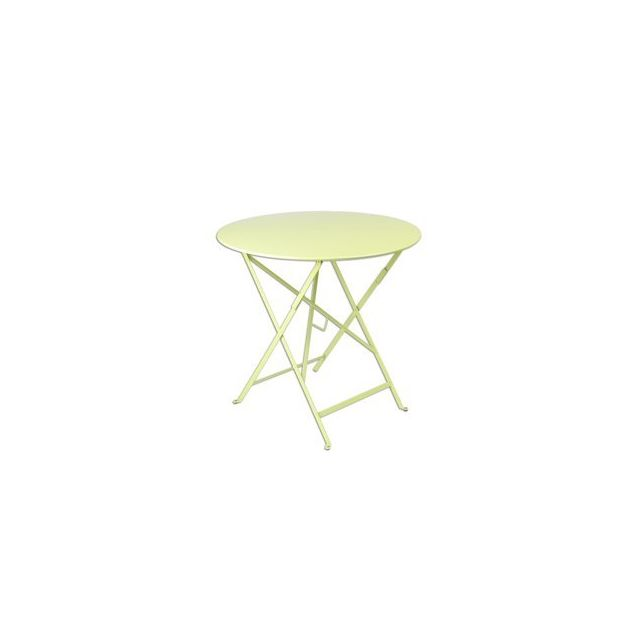 Bistro par Fermob - Table de jardin ronde pliante Acier ...