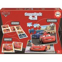 Educa - Cars 2 Superpack Multijeux