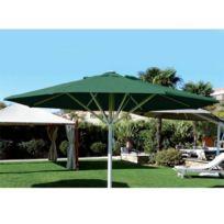 Abritez-vous Chez Nous - Parasol aluminium diam. 4m Maxisoco Vert Bouteille