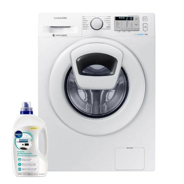 Samsung Lave-Linge Frontal 9KG A+++ 1400trs/min Tambour 65L Machine à laver hublot