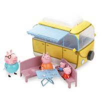 PEPPA PIG SERIE - Coffret Camping-car avec 4 personnages - 4901