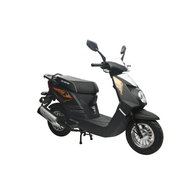 eurocka scooter q one 50cc 4t noir mat achat vente scooters 50 pas cher rueducommerce. Black Bedroom Furniture Sets. Home Design Ideas