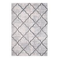 tapis raye noir et blanc achat tapis raye noir et blanc pas cher rue du commerce. Black Bedroom Furniture Sets. Home Design Ideas