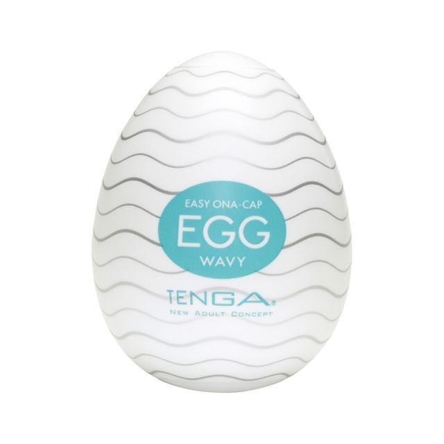 Tenga - Pack 6 Wavy Unisexe