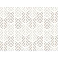 Graham & Brown - Papier peint 100% intissé motif flèche chevron taupe 10.05x0.52m Oiti