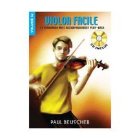 Paul Beuscher - Partition : Violon facile vol.2 Cd