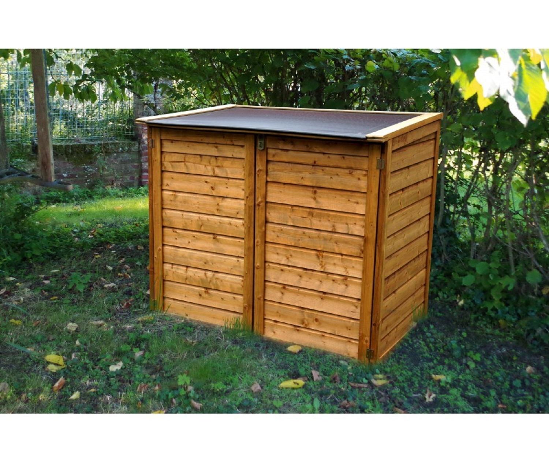 chalet  jardin  coffre bois trocadero 1350l  pas cher