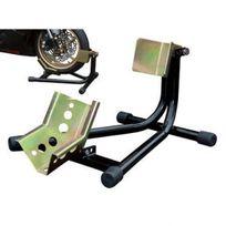Motostand - Bloque roue moto basculant béquille sabot de roue avant - 3015-L
