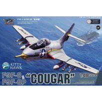 """Kitty Hawk - Maquette avion : Grumman F9F-F9F-8P """"Cougar"""
