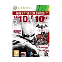 Warner Bros - Batman Arkham City - game of the year edition import italien