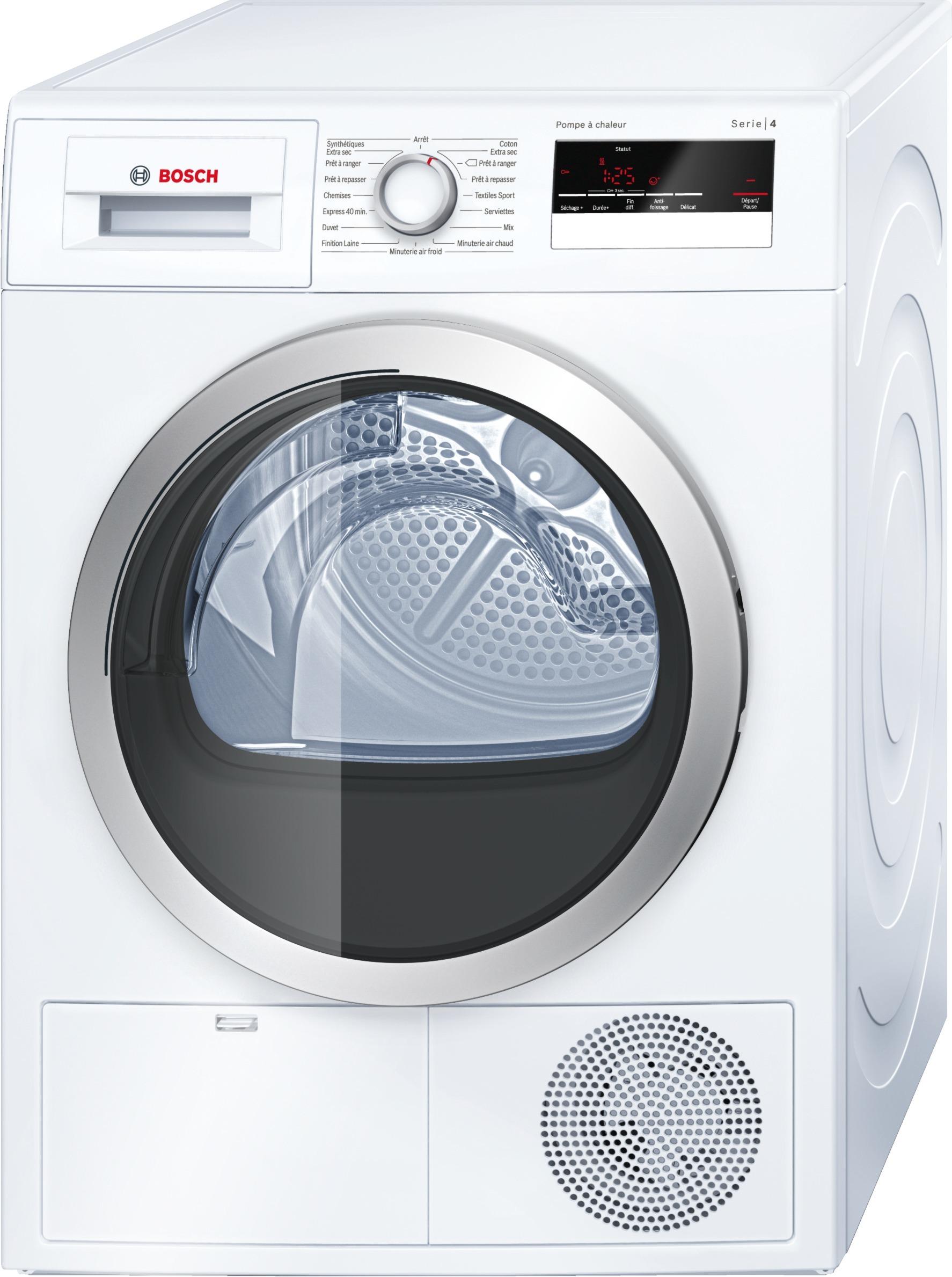 Sèche-linge - 8 Kg - A++ - 60cm - Pose libre - Blanc