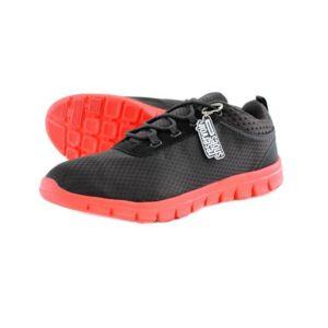 Reservoir Shoes Basket légère homme  Dario Noir Rouge - Chaussures Baskets basses Homme