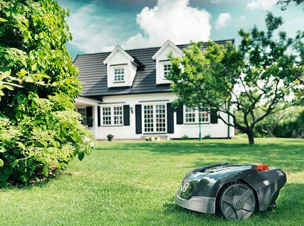 husqvarna robot tondeuse automower 105 kit d. Black Bedroom Furniture Sets. Home Design Ideas
