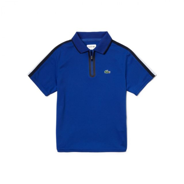 4e0544781b Lacoste - Polo Junior - Ref. Dj5833-00EJ1 - pas cher Achat / Vente Polo  enfant - RueDuCommerce
