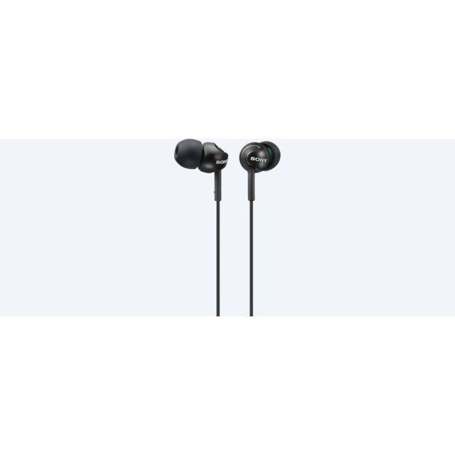 SONY Ecouteurs intra-auriculaire MDR EX110LP Noir