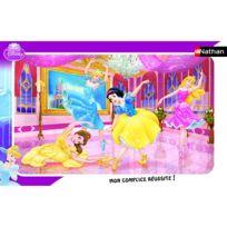 Nathan - Puzzle cadre - 15 pièces - Princesses Disney : Le ballet des princesses