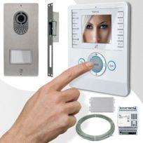 CAME - Interphone vidéo BIANCA PLACO TOP adapté toutes installations 001CK0002PLUS