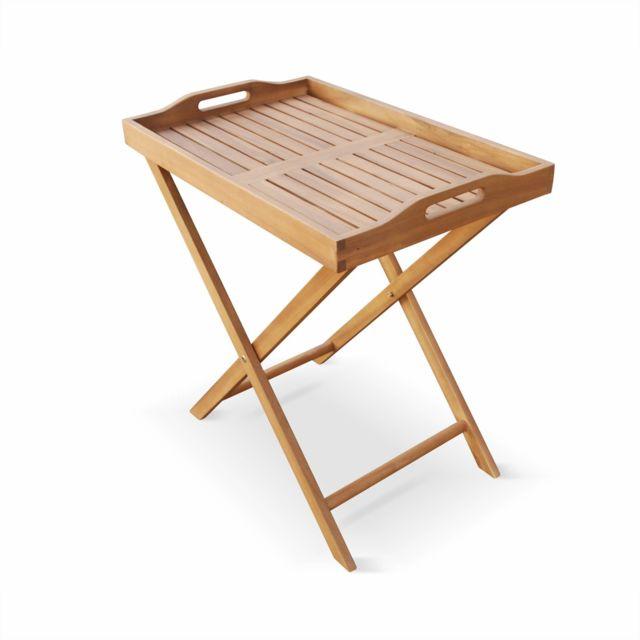Table de camping Table Table de balcon Table de jardin table d/'appoint Table pliante avec amovible