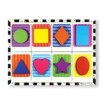 Melissa And Doug - Melissa & Doug Puzzle a Grosses Pieces En Bois - Formes