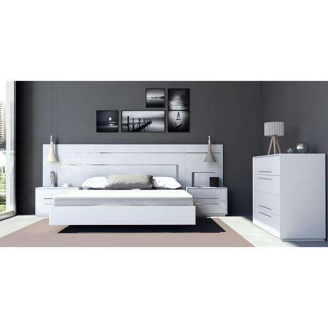 Cubisl Chambre complète 1001022/180 - Reve pour couchage 180x200CM