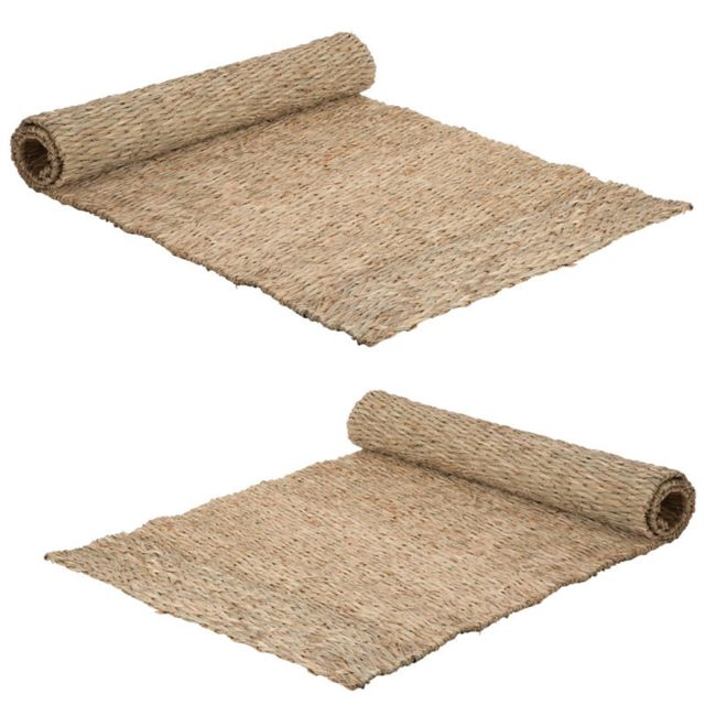 Duo De Tapis Paille Naturel 100 50 Dilma