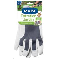 MAPA - Gants Cuir Entretien du Jardin - T9 - 12946079