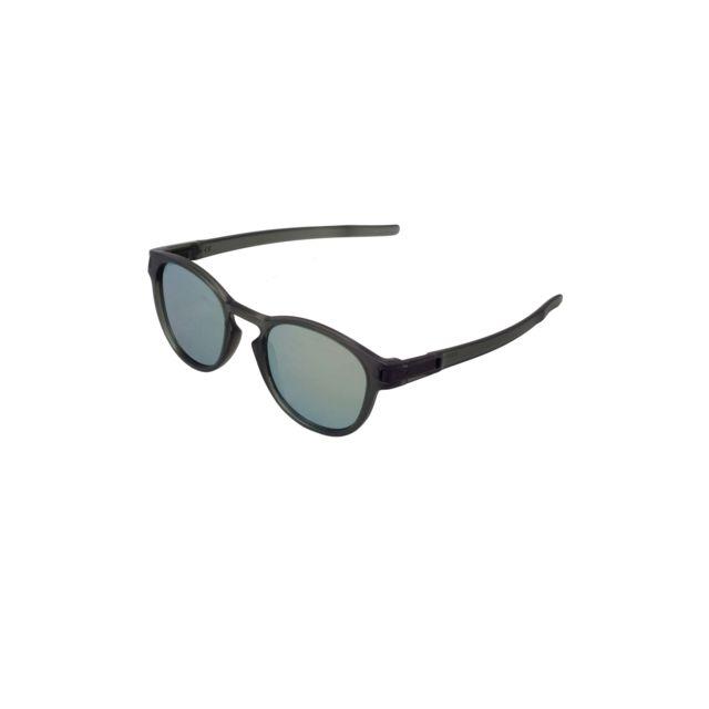 23cbe5075c0d05 Oakley - Lunettes de soleil Latch Emerald Iridium - pas cher Achat   Vente  Lunettes Tendance - RueDuCommerce