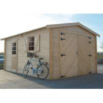 Dedans Dehors - Garage en bois Solid 17,07m