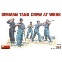 Mini Art - Miniart 35010 German Tank Crew Working 1:35 Plastic Kit