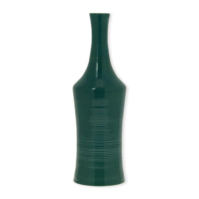 Bruno Evrard - Vase vert en céramique 40cm - Céramique - Vert 0cm x 0cm x 0cm
